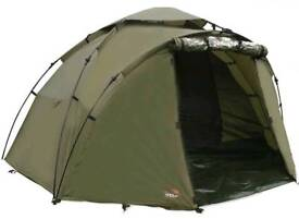 fishing seat/bed and half tent