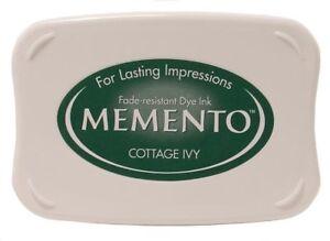 Tsukineko Memento Cottage Ivy Ink Pad NEW