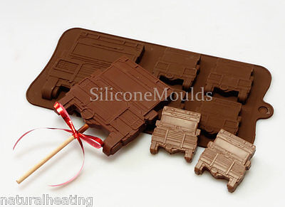 Landrover Cruiser 4x4 Car Truck Chocolate Silicone Baking Mould Candy Cake Lolly