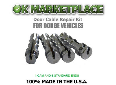 Dodge Dakota Pickup Truck/Dakota Truck Cable Repair Kit (Suicide Door) #DAK1B3A