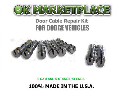 Dodge Dakota Pickup Truck /Cable Repair Kit (Suicide Door) #DAK2B6A