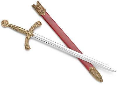 Knights Templar Replica Sword Letter Opener - with Scabbard