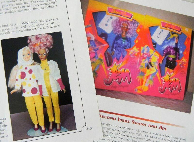 10p History Article & ID -  VTG & Rare Hasbro Jem 1980s Hologram Dolls