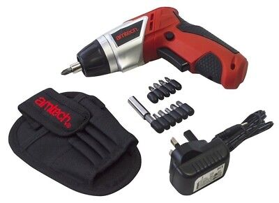Screwdriver Cordless 3.6v Electric Set Rechargeable Lithium Battery 180 Swivel