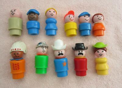 FP Eleven (11) Little People, Sheriff, Cowboy, Indian / Native American and More