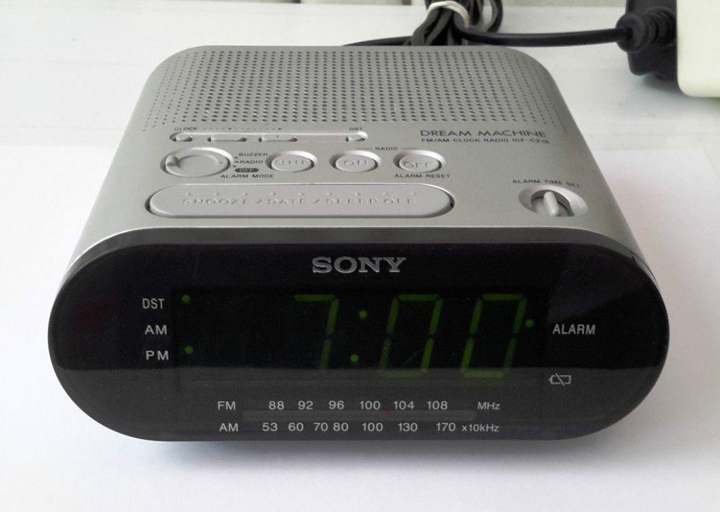 Sony Icf C218 User Manual Sample User Manual