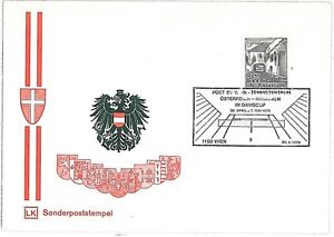TENNIS-SPECIAL-POSTMARK-on-CARD-AUSTRIA-1976-DAVIS-CUP
