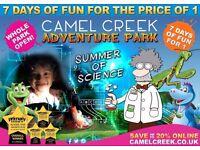 Camel Creek Adventure Park Summer of Science