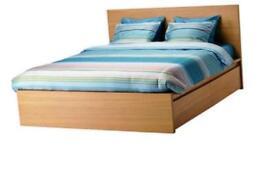 Bed and Mattress Ikea 210cmx200cm