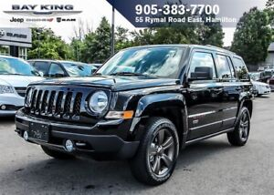 2017 Jeep Patriot 75TH ANNIVERSARY 4X4, AUTO, HTD SEATS, A/C