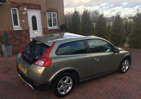 2009 VOLVO C30 S DRIVe DIESEL COUPE {AUTO START/STOP} 55,800 MILES GUARANTEED WITH FVSH