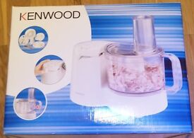 New* Kenwood 300w Food Processor, Model No. FP110