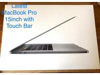 Late 2016 MacBook Pro 15inch Top Specs, Space Grey, 512SSD, 2.9GHz i7, 4GB Graphics Radeon Pro 460