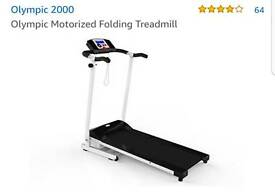 Olympic 2000 motorised folding treadmill