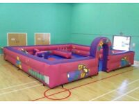 Soft play & bouncy castle equipment