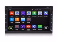 """Pure Android 4.4 OS 6.95"""" HD Double 2Din Car Stereo GPS 3G Wifi Sat Nav DVD OBD"""