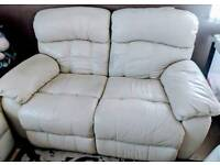 Recliner sofa and 2 armchairs
