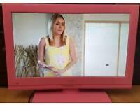 20'' LCD TV/DVD Pink