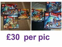 Lego movie lego used but complete (made up and stored) £30 a bundle £60 the lot