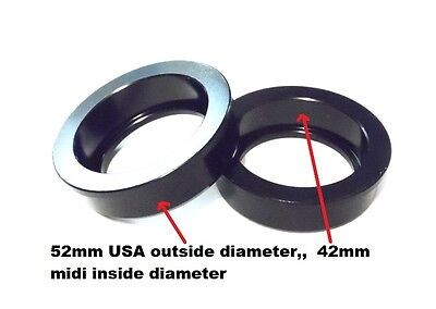 USA to Midi Mid Euro BMX Bottom Bracket sealed bearing  Adaptor Cups