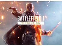 BATTLEFIELD 1 REVOLUTION, XBOX ONE.