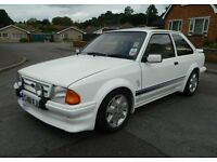 1985 Ford Escort RS Turbo Custom, VGC, P/X Welcome
