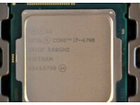 Intel Core i5/i7 Processors - Quad-Core 4790/3770/4400/3550/4460/2600 and loads more!