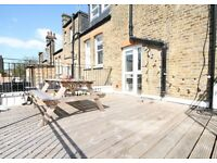 A STUNNING TWO - 2 - BED/BEDROOM FLAT - 2 BATHROOMS - OWN LARGE TERRACE - N8