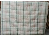 king size mattress, good quality. 200cm x 150cm x 20cm thick. In good clean condition.