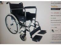 Wheelchair (unboxed!) + free cushion.