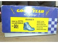GOODYEAR ROAD HOG III STEEL TOE CAP BOOTS - NEW