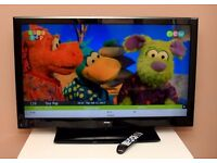 "FANTASTIC 39"" FULL HD TV, USB, HDMI, built in FREEVIEW, remote ! EXCELLENT CONDITION !"