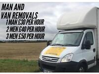Removals - Man and Van Service