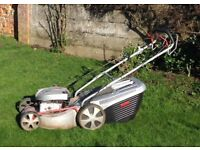 Alko 470 BR lawnmower with grass collection box   Al-ko 470BR