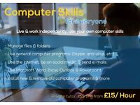 Computer Skills for Everyone - Private Tutor - £15/Hour