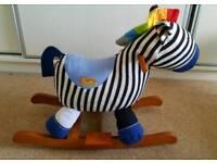 Rocking Zebra