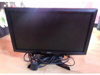 Acer Computer Monitor - as new