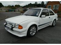 1985 Ford Escort RS Turbo Custom, VGC, P/X, Credit Cards Welcome