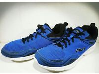 FILA 9.5 running shoes trainers sneakers blue