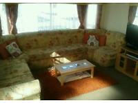 Spacious 3 Bedroom Caravan 4 Hire North Wales SUMMER HOLS 27th AUG Kids Club Beach Entertainment