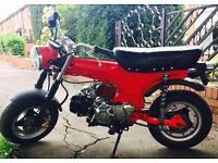Honda dax copy/monkey bike 125cc swap car bike ped