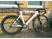 Leader 725 Track Fixed Fixie Bike