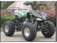 Kymco 125cc quad bike adult size