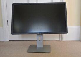 Dell Monitor 23.75-Inch Screen, Black