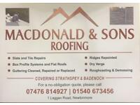 Macdonald & sons roofing