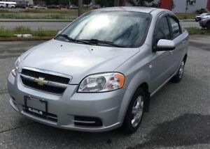2007 Chevrolet Aveo LS, Fuel Economy, CD Player, Manual