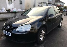 2006 Volkswagon Golf Match 1.9 TDI - Sat Nav, Heated Seats, Auto Wipers & Lights FULLY LOADED