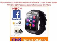 Smart Watch Bluetooth Wearable Curved Screen High Quality Support NFC SIM GSM