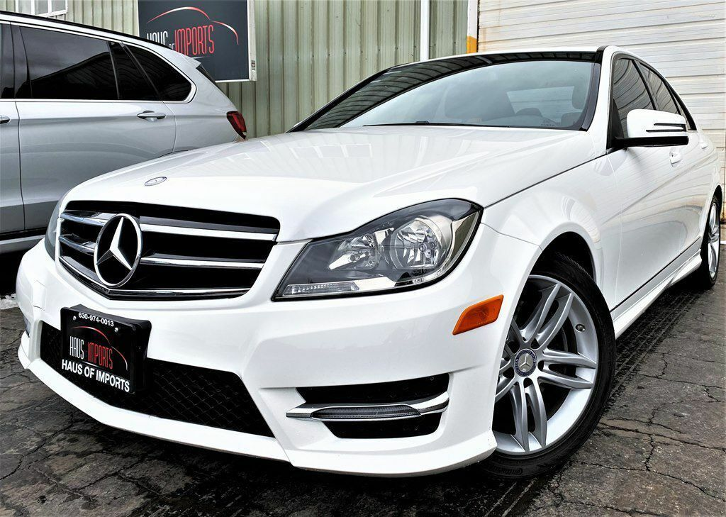 2014 Mercedes-Benz C-Class, WHITE with 74931 Miles available now!
