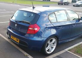2007 BMW 118D M SPORT BLUE MANUAL HPI CLEAR HALF LEATHER SPORT HATCH DIESEL NEW